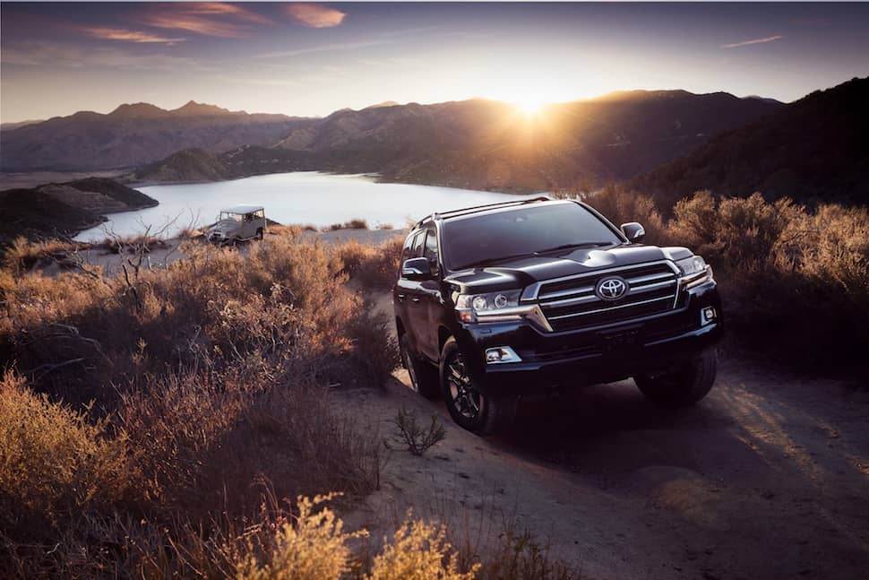 2020 Land Cruiser Heritage Edition front
