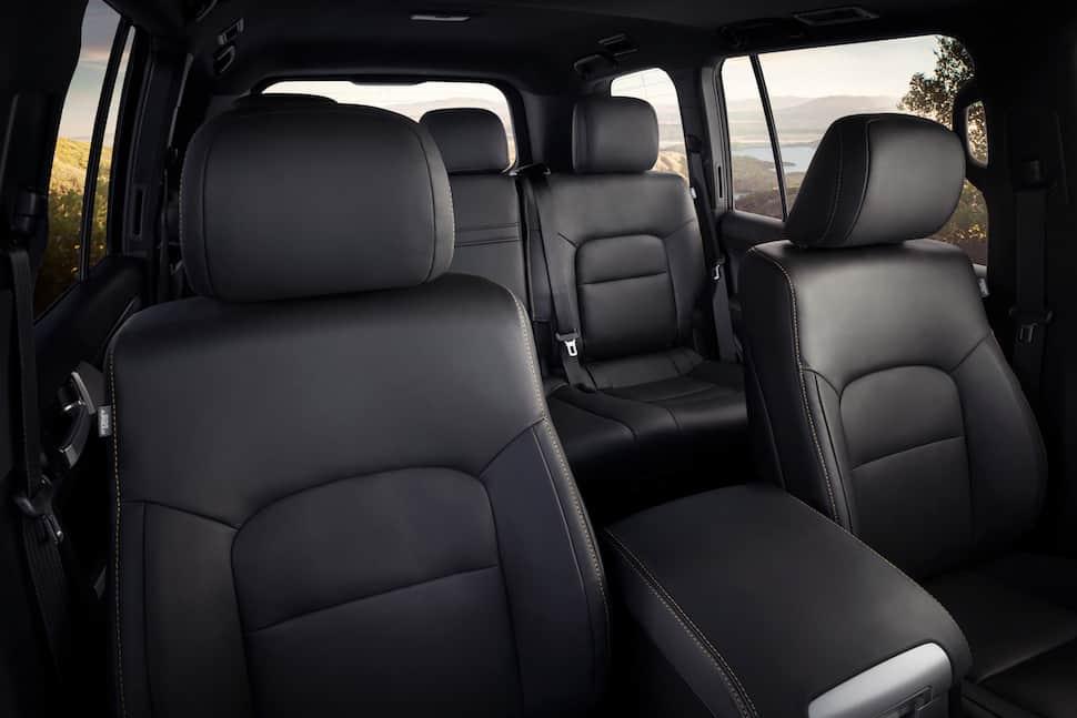 2020 Land Cruiser Heritage Edition interior 1
