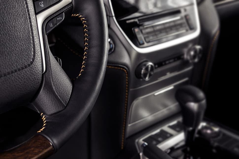 2020 Land Cruiser Heritage Edition interior tech