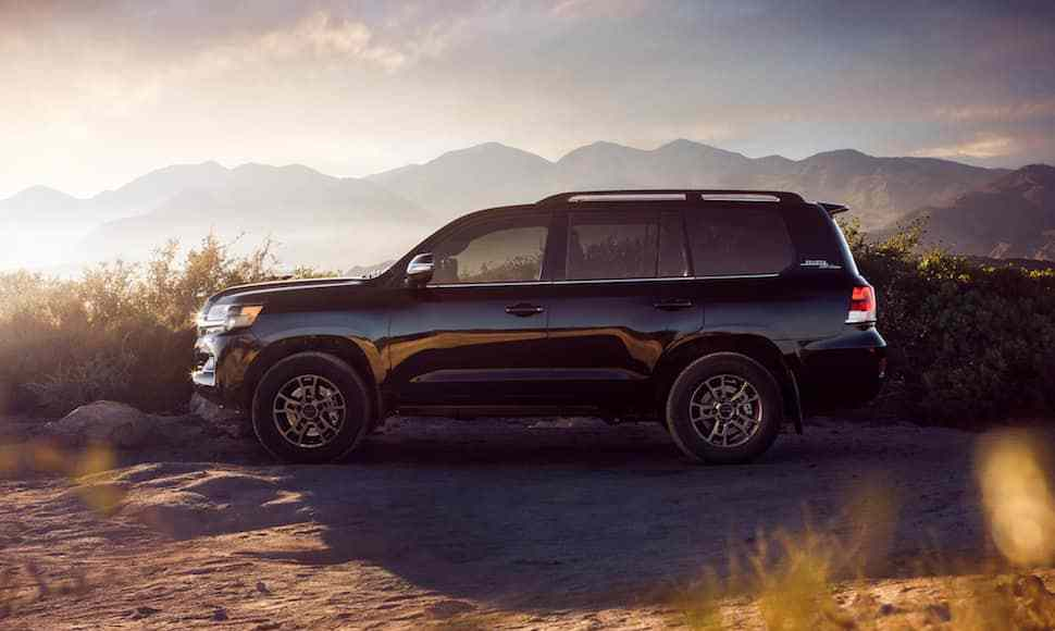 2020 Land Cruiser Heritage Edition side view