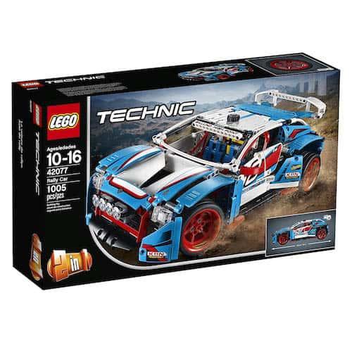LEGO Technic Rally Car box