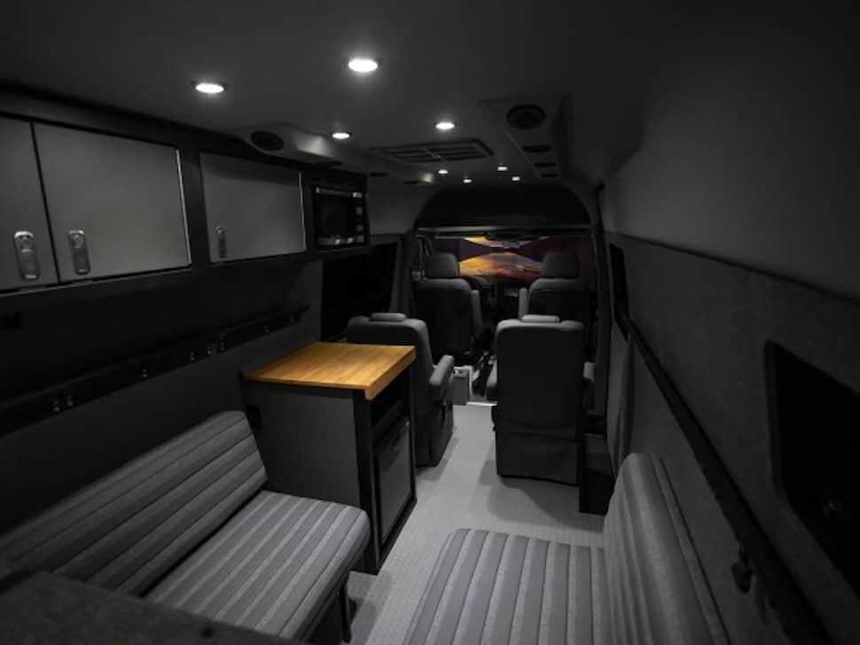 Lexani EXTV Kalahari 4×4 Sprinter Camper interior