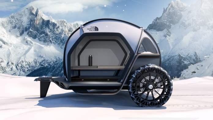 The North Face FUTURELIGHT Camper concept 2