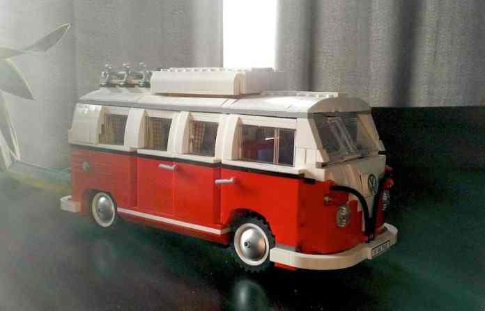 lego T1 VW camper van