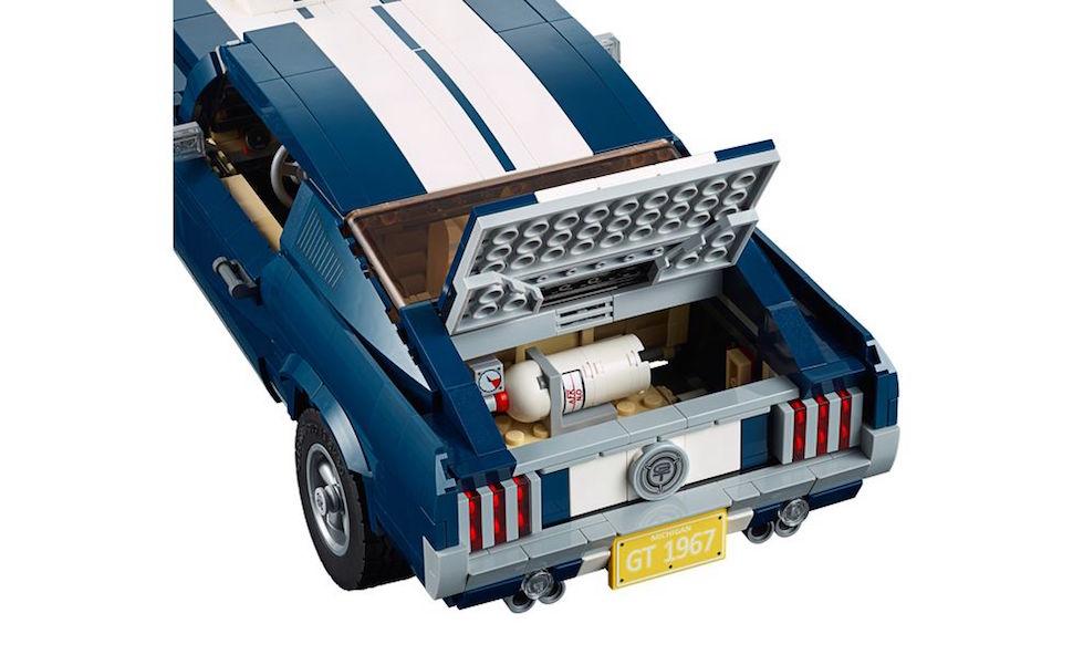 lego creator 1967 mustang fastback trunk nitrous