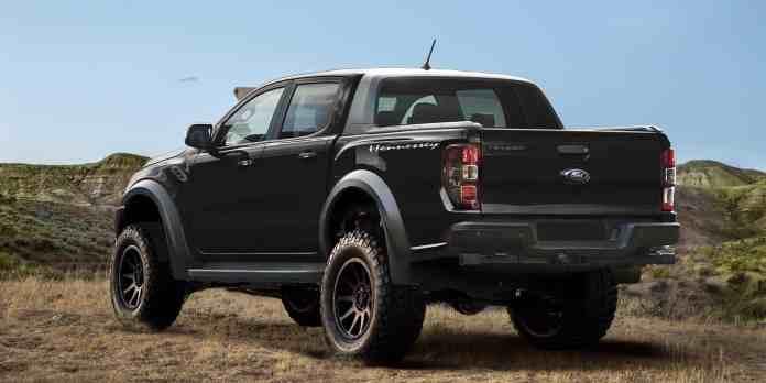 2019 Hennessey VelociRaptor Ford Ranger rear view