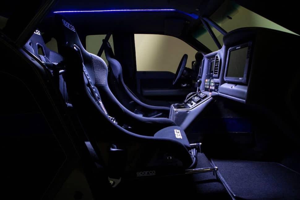 2017 RACEWORKS LUXURY RAPTOR PRE-RUNNER interior