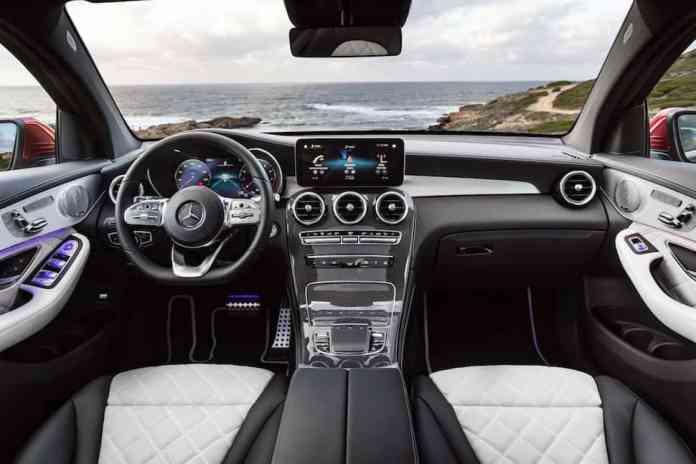 2020 Mercedes-Benz GLC Coupe interior