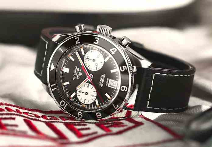 TAG Heuer Autavia 1972 SPECIAL RE-EDITION face