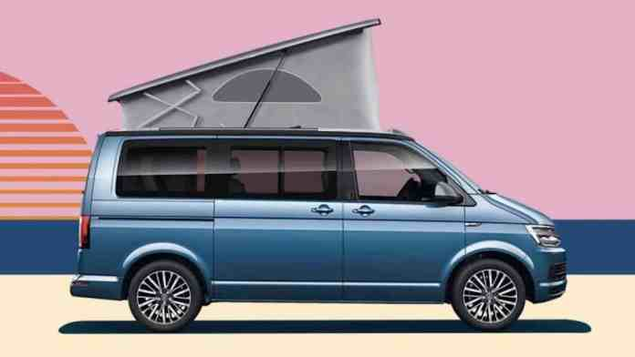 VW California 30 Years Edition Camper Van poster side profile