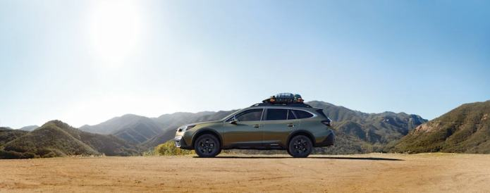 2020 subaru outback side view onyx edition