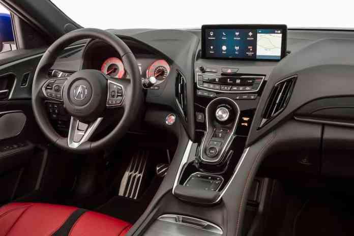 2020 Acura RDX A-Spec interior cabin