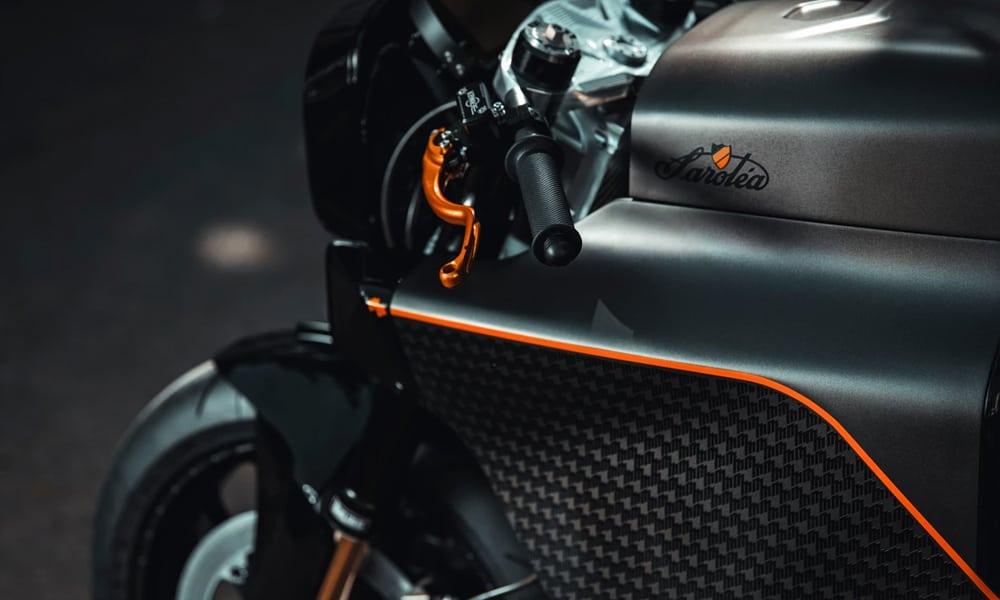 SAROLÉA N60 MM.01 motorcycle handlebar