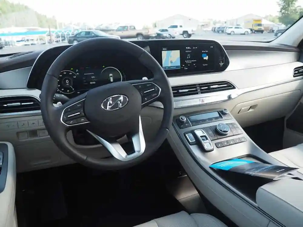 2020 Hyundai Palisade interior review