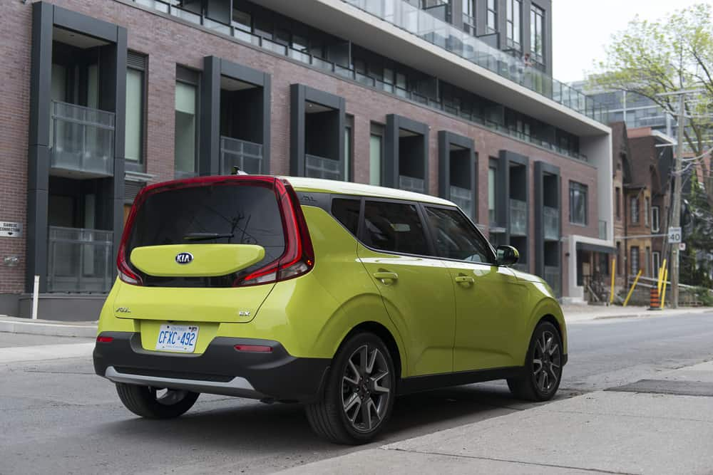 2020 Kia Soul rear view review