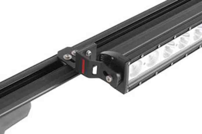 Yakima LockNLoad roof rack light bracket