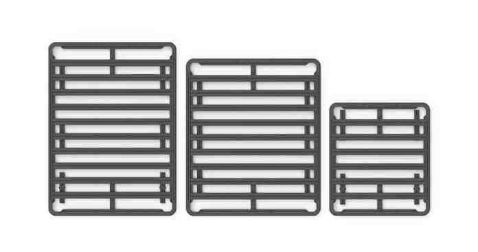 Yakima LockNLoad roof rack sizes