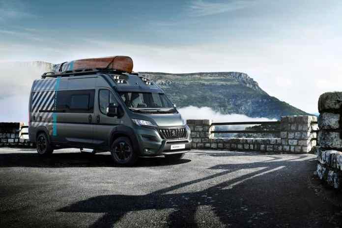 Peugeot Boxer 4x4 Concept Camper Van front