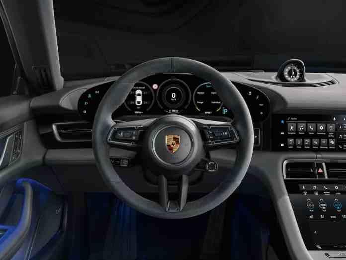2020 Taycan 4S interior