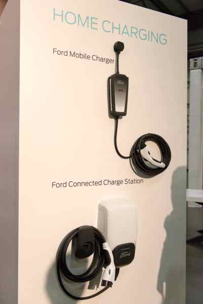 Ford Mustang Mach-E chargers