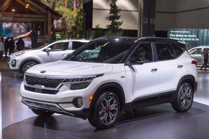 2020 Kia Seltos Small SUV