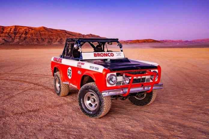 Bronco R Race Prototype