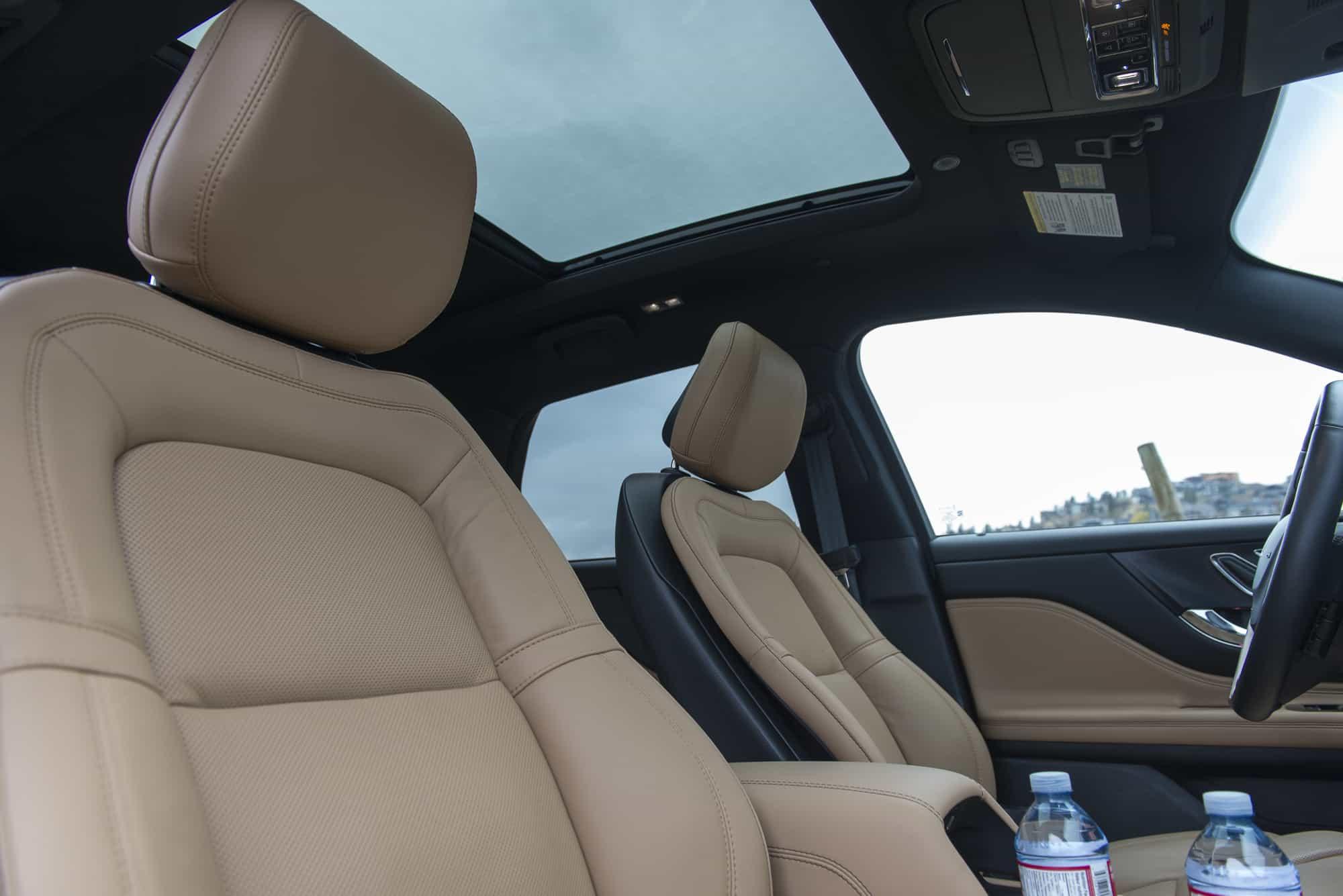 2020 LIncoln Corsair interior seats