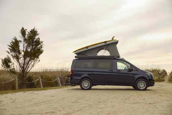 2020 Mercedes-Benz Metris Weekender Popup Camper Van profile