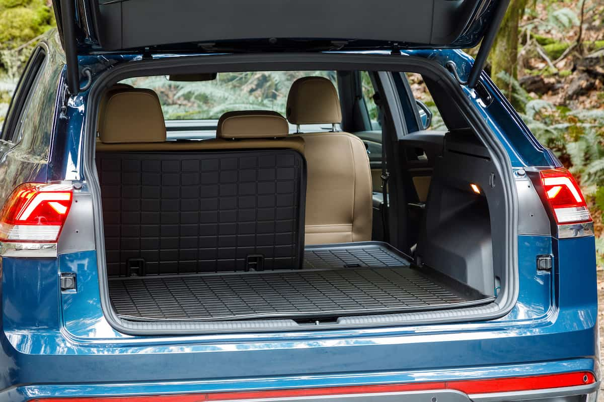 2020 Volkswagen Cross Sport rear cargo seats