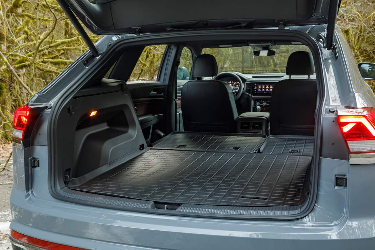 2020 Volkswagen Cross Sport rear cargo
