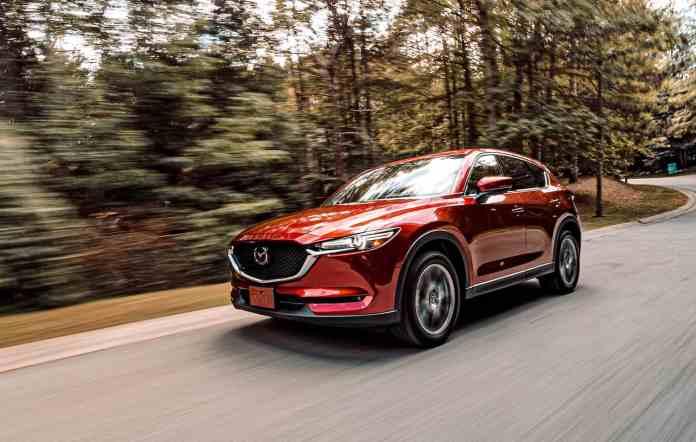 Mazda CX-5 Skyactiv-D Signature Review front