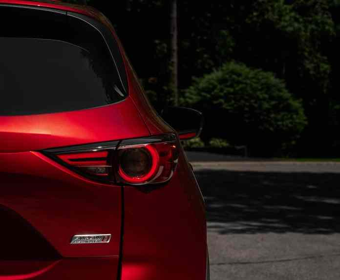 2019 Mazda CX-5 Diesel SUV Review rear taillight