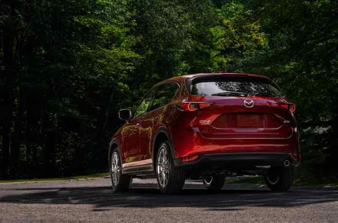 2019 Mazda CX-5 Diesel SUV Review rear profile view