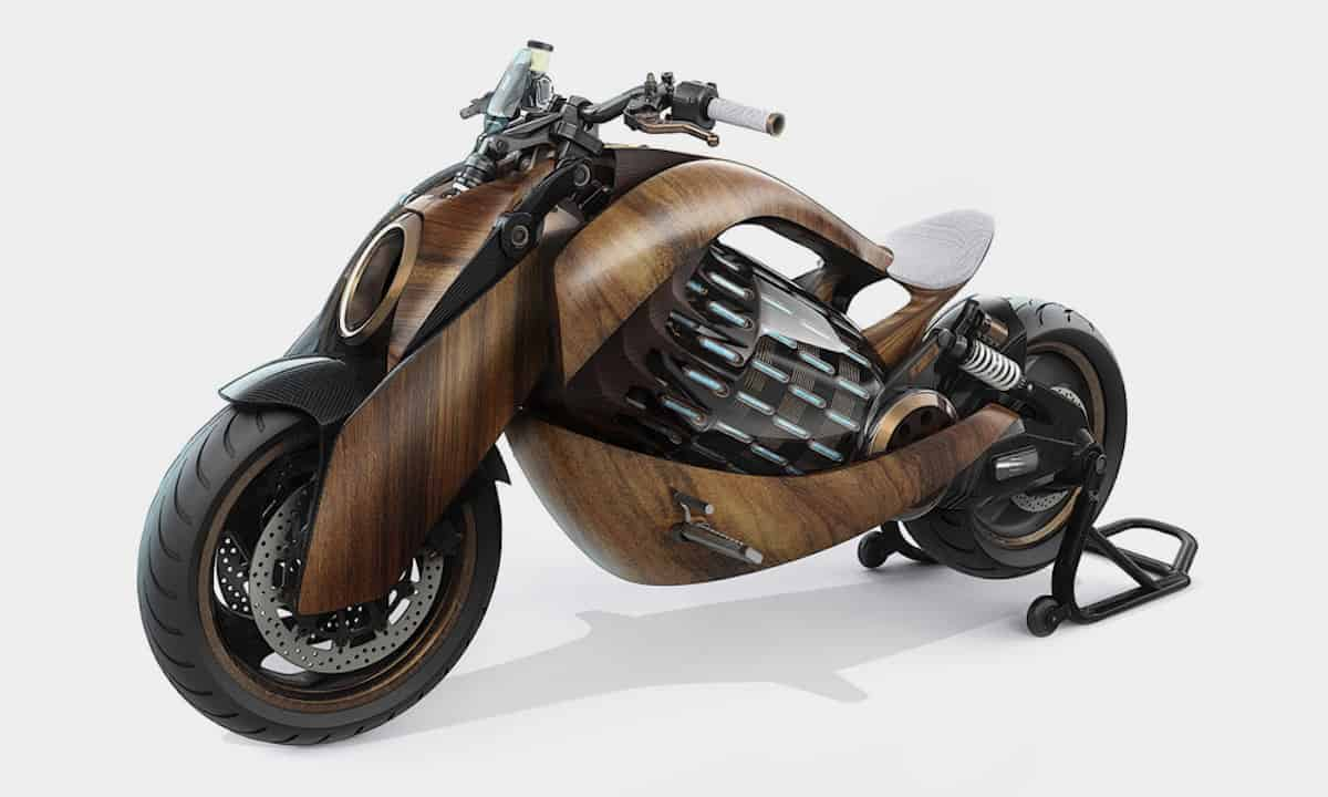EV-1 Electric Cruiser Motorcycle by Newron Motors 2