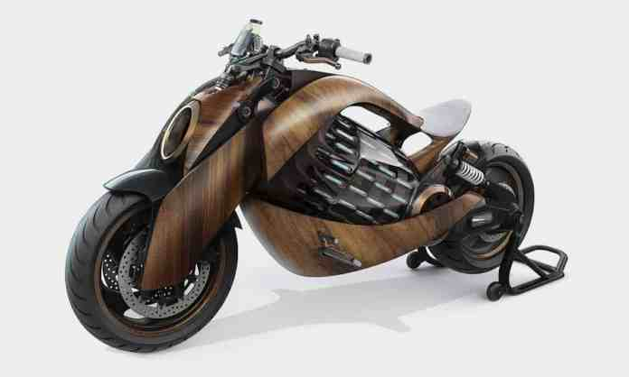 EV-1 Electric Cruiser Motorcycle by Newron Motors