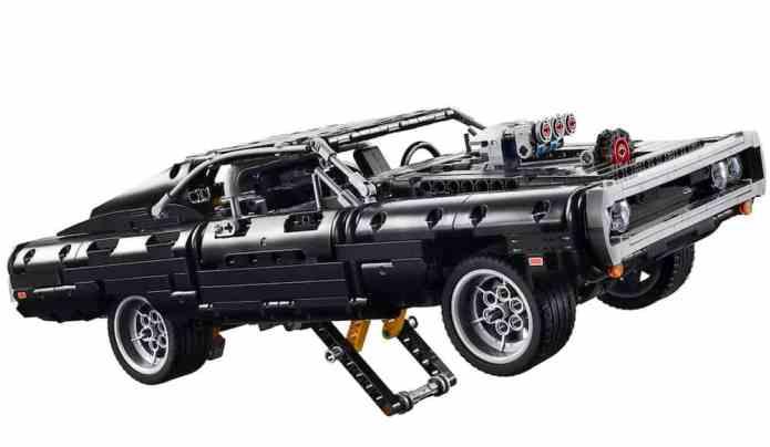 doms charge lego technic set front finished