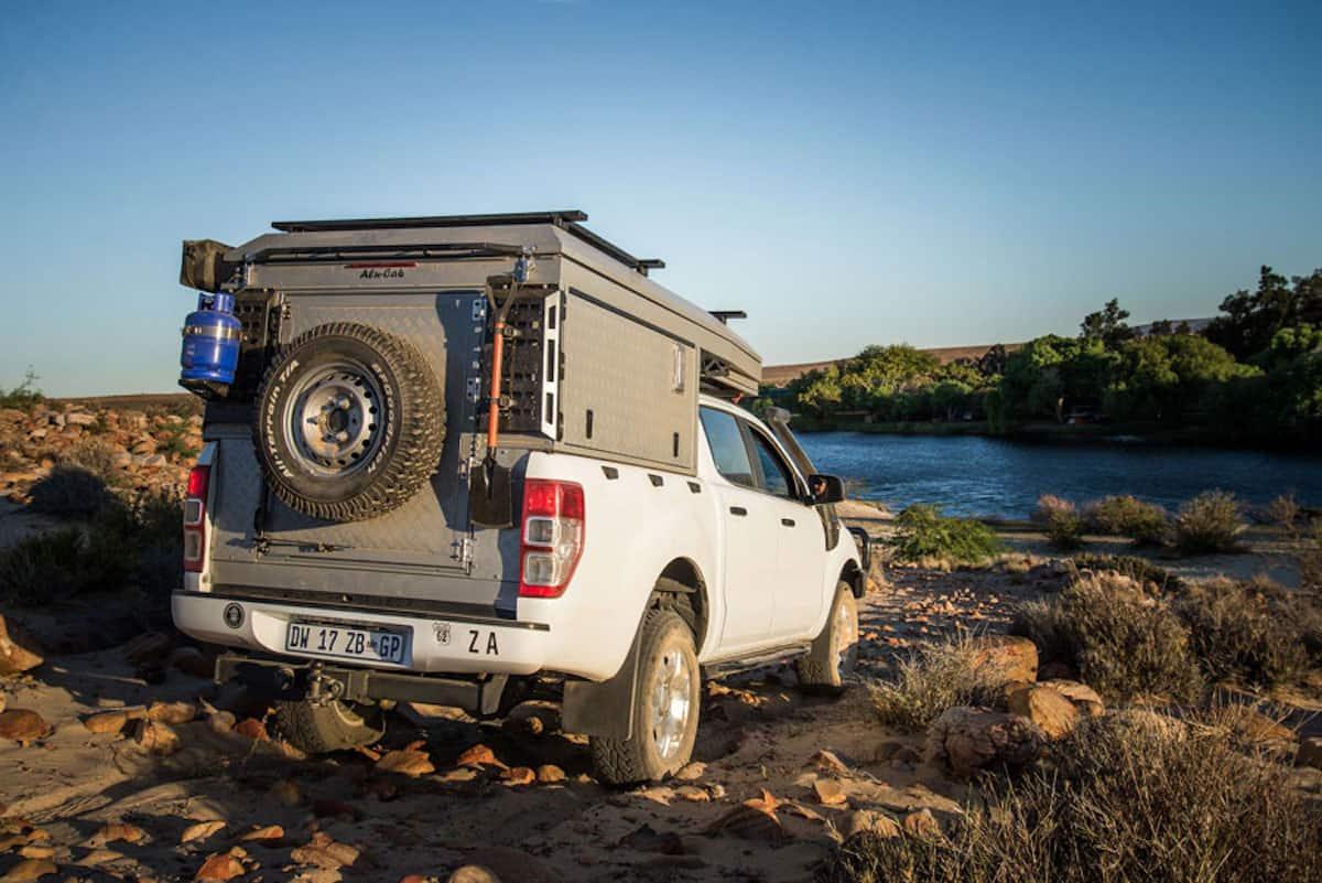 Alu-Cab Canopy Camper rear