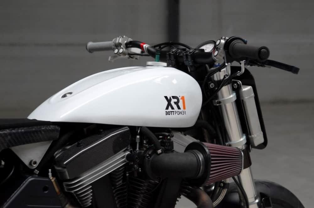 Buell XB12 custome by Bottpower XR1 gas tank copy