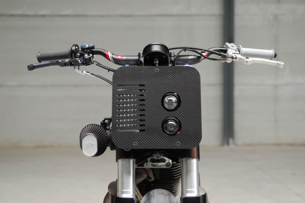 Buell XB12 custome by Bottpower XR1 headlight copy