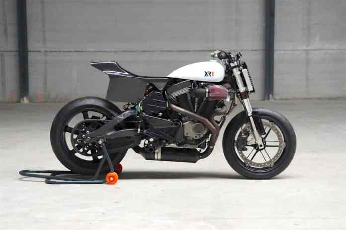 Buell XB12 custome by Bottpower XR1 sideview
