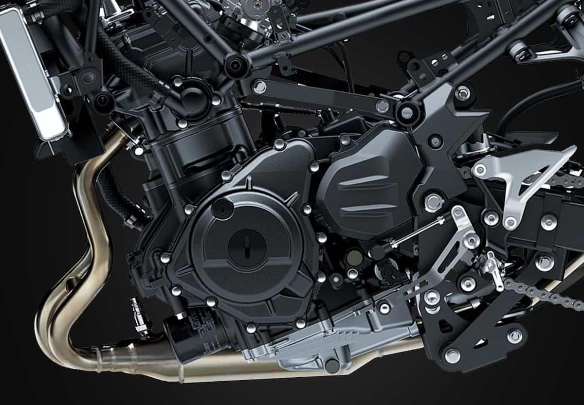 Kawasaki Ninja 400 engine