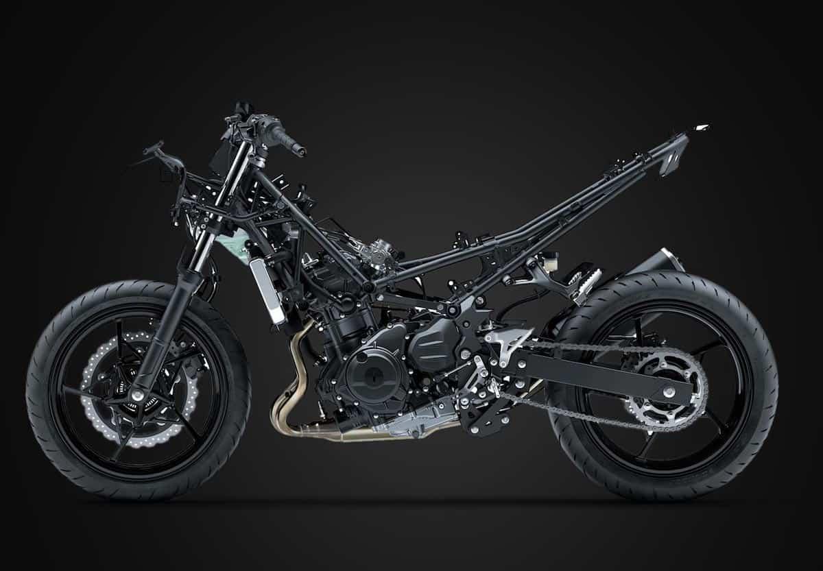 Kawasaki Ninja 400 frame