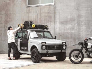 lada niva 4×4 custom by vagabund moto