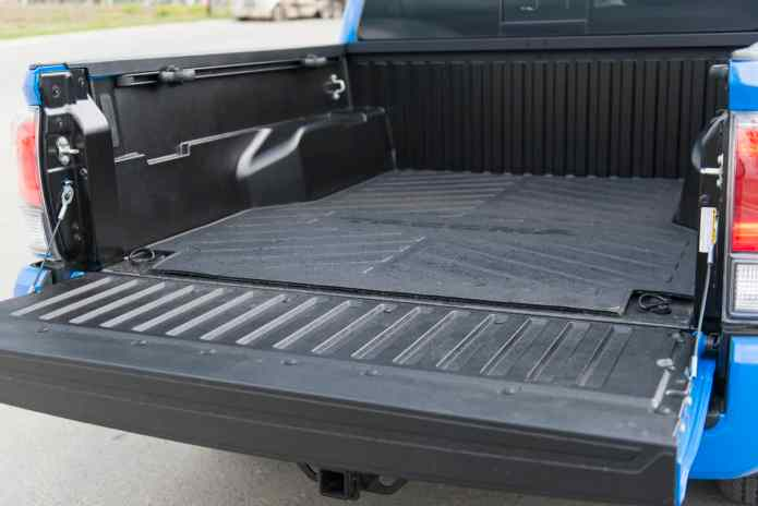 2020 Toyota Tacoma TRD rear cab door open