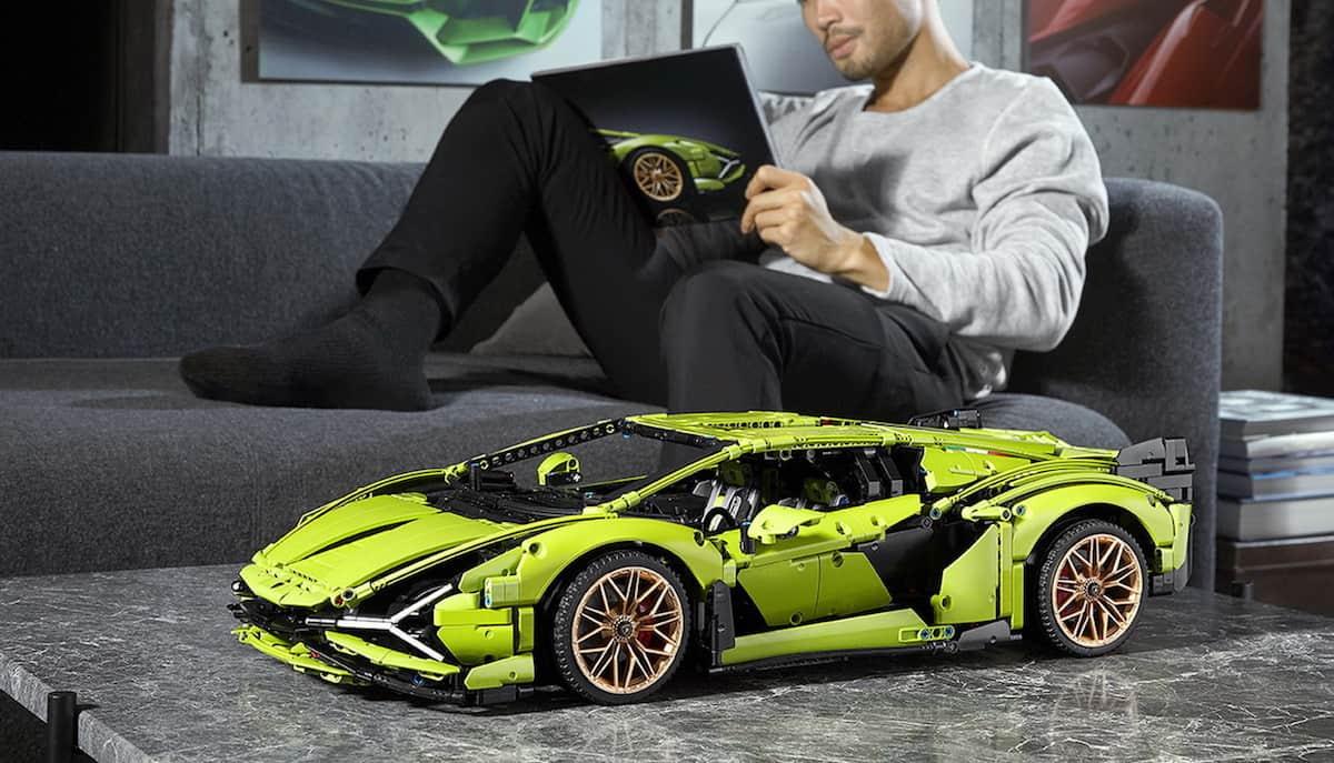 Lego Technic Lamborghini Sián FKP 37 finished