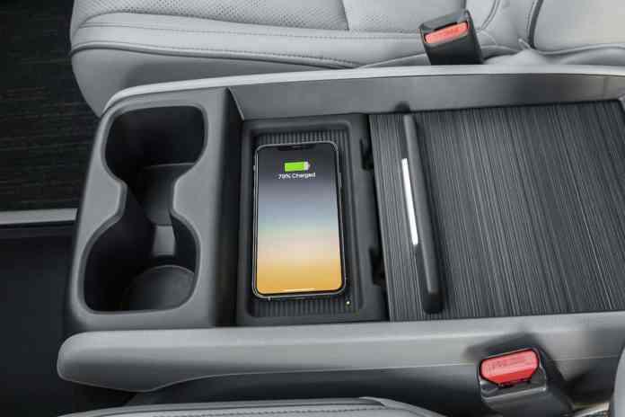 2021 Honda Odyssey updated centre console