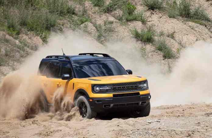 2021 Bronco Sport off roading