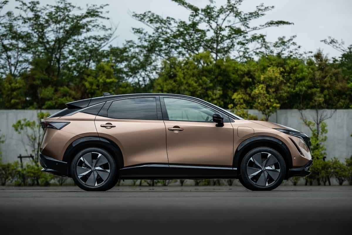 2022 Nissan Ariya all electric suv 14
