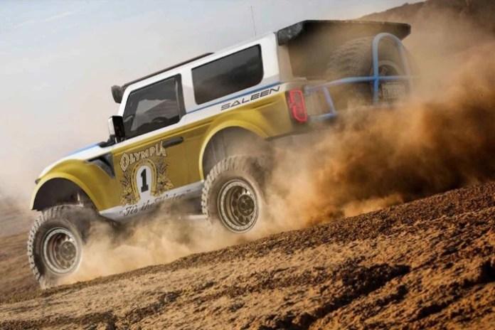 Saleen 'Big Oly' Off-Road 2021 Bronco