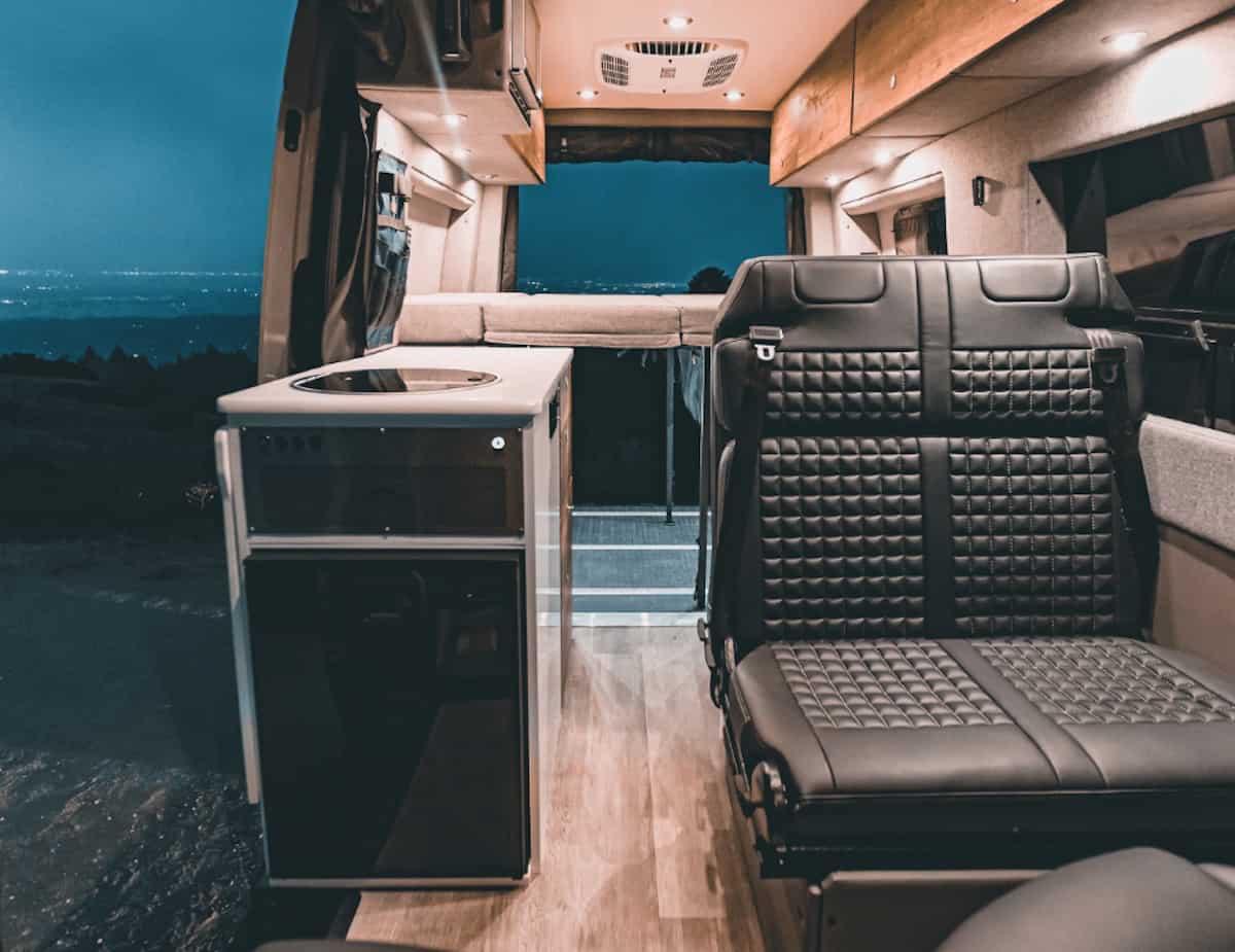 Beast MODE 4x4 Sprinter Van for sale interior